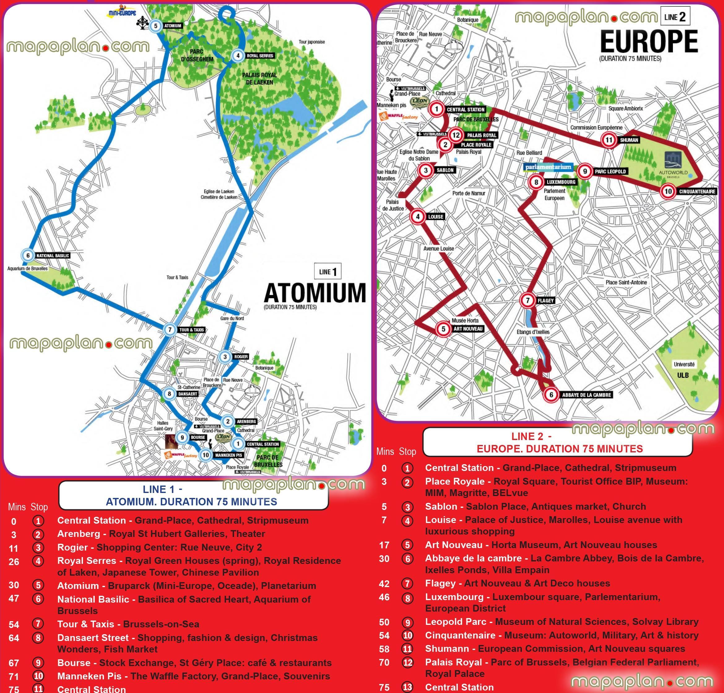 Brüssel Sehenswürdigkeiten Karte.City Sightseeing Brüssel Zur Karte Brüssel Sehenswürdigkeiten Karte